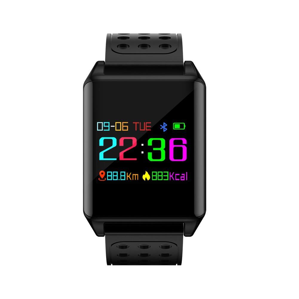 M7 Plus Smart Watch Waterproof Color Screen Blood Oxygen Pressure Heart Rate Monitor Pedometer Smartwatch Wristband plus heart