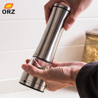 ORZ Kitchen Tools Stainless Steel Pepper Mill Cooking Tools Spice Muller Pepper Grinder Kitchen Accessories