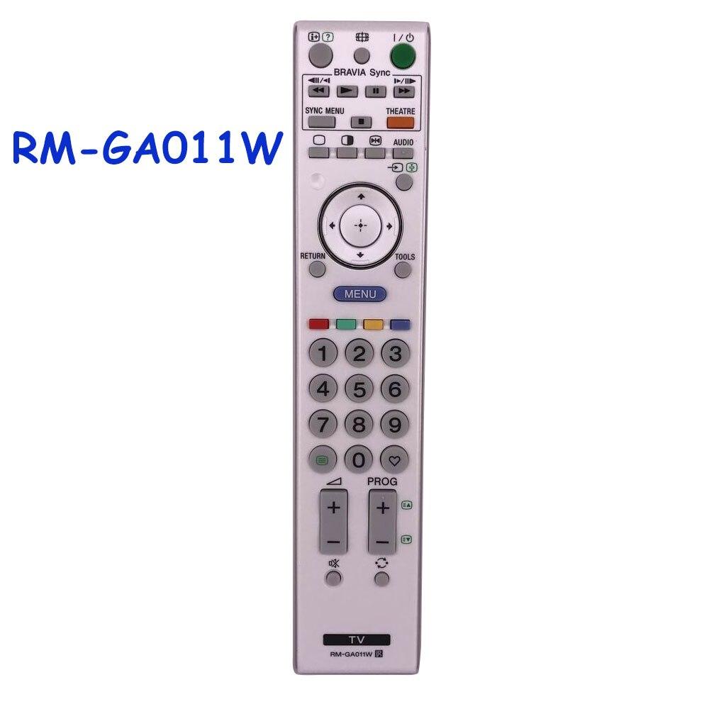 New Original/Genuine RM-GA011W Remote Control For SONY TV RM GA011W Remoto Controller Fernbedienung док станция sony dk28 tv dock