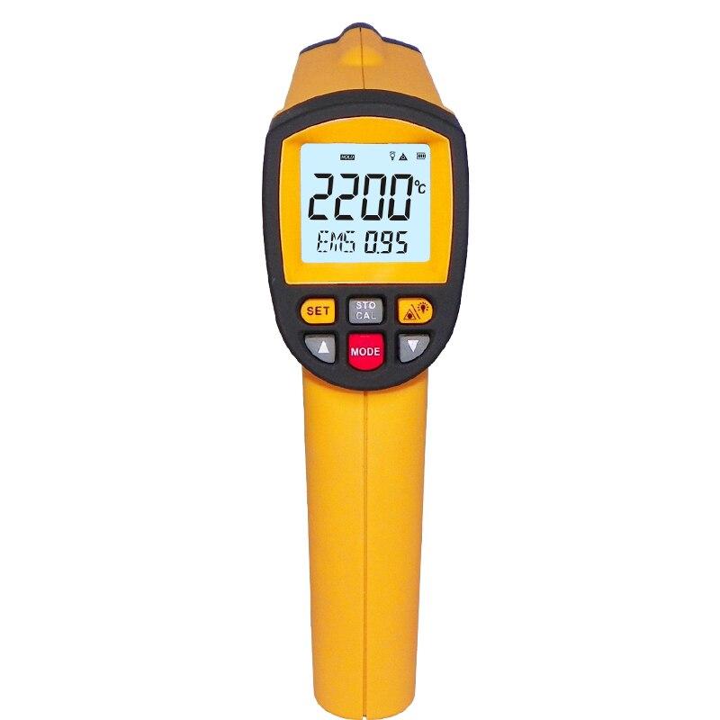 GM2200 Industrielle Numérique Infrarouge Thermomètre RS-232 conection en ligne mesure avec ordinateur logiciel analyze