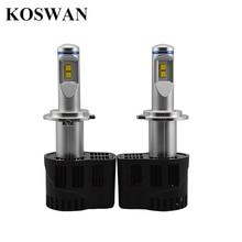 1Set High Quality 110W 10400LM LED Headlight H7 P6 Car LED Headlight H7 6000K 360 Degree philip LED Headlamp Light Bulbs Kit H7