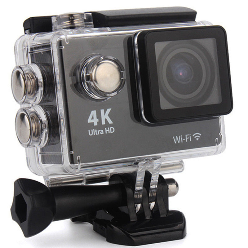 4K 1080P HD Sport Action Mini Camera Waterproof Cam Wifi Camcorder Helmet Go pro style for Xiao Mi Yi Water Resistant Camcorder apeman action camera a77 4k 1080p waterproof action cam pro wifi sport helmet video camera with hd camcorder remote control
