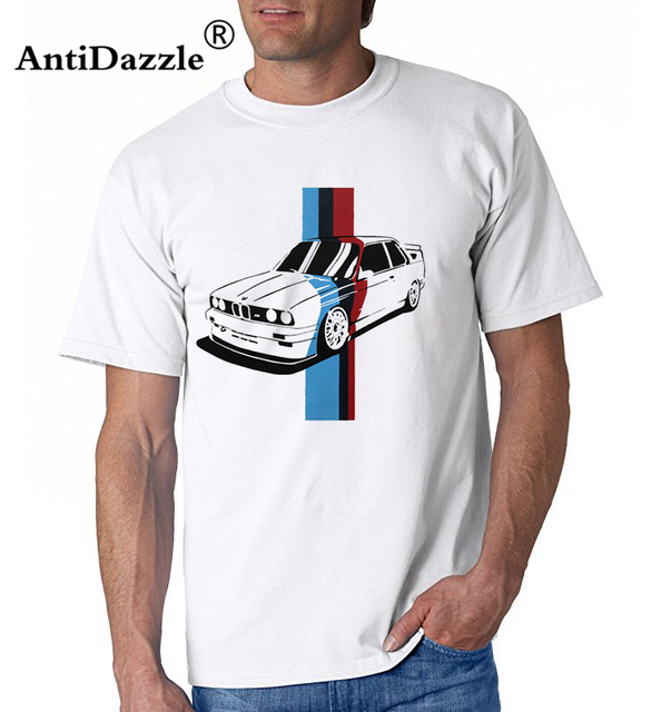 Antidazzle M3 E90 Men's Fashion Race car Design T shirt Tops Short Sleeve Hipster M3E30 Tshirt Tees Brand clothing cool shirts