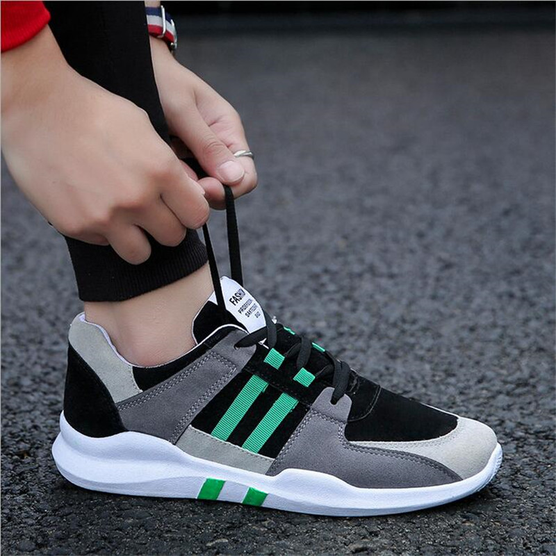 2018 Black High Quality Men Casual Shoes Mixed Colors New Style Male Sneakers Spring and Autumn Student Flat Casual Shoes 39-44 top quality genuine leather oxfords for women gold sliver mixed colors female british style spring autumn casual flat shoes