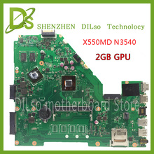For ASUS X550MD laptop motherboard 60NB06P0-MB2300 x550md new motherboard N3540 2G video card 100% tested