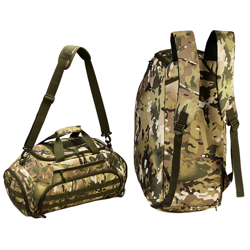 35L Multi function Sports Bag Outdoor Camouflage Tactical Bag Gym Bags Traveling Hiking Camping Sport Bagpack