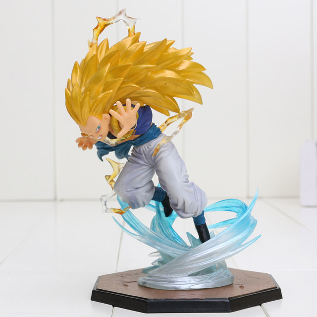 16 CENTÍMETROS Anime Dragon Ball Z Super Saiyan Gotenks Dragon Ball Z figura PVC Action Figure toy Model Collection