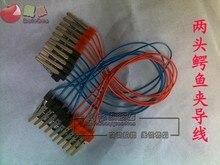 Cabo de fio 40cm física elétrica experimental fio o instrumento ensino 10 pçs frete grátis