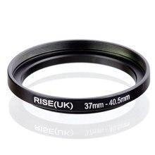 Original RISE (UK) 37 มม. 40.5 มม.37 40.5 มม.37 ถึง 40.5 Step Up แหวนอะแดปเตอร์ตัวกรองสีดำ