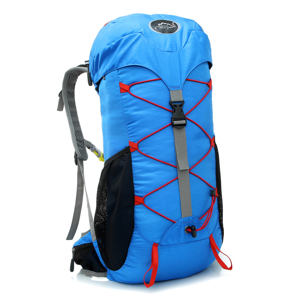 30L Large Outdoor Waterproof Backpack Camping Bag Hiking Backpacks Waterproof Mountaineering Travel Sports Bag Climbing Rucksack wissblue 35l outdoor backpack camping bag mountaineering climbing hiking backpacks sports bag cycling waterproof rucksack