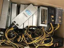 Старый 1600 Вт/1800 Вт psu Ant S9 L3 L3 + D3 V9 Z9MINI BTC LTC комбайн машины сервера добыча плата питания