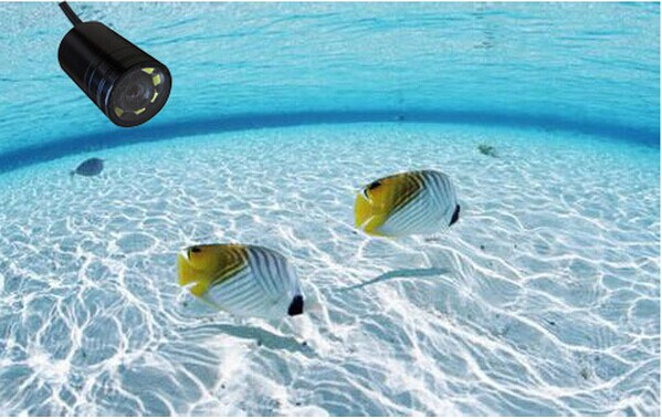 Underwater fishing camera with 30 meters long cable MCV8 ( night vision,90 degree ) xyx s09 28pin s06 s09 lens 90 degree 140 degree 90 degree night vision