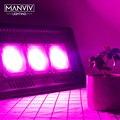 Светодиодная лампа для выращивания растений 30 Вт  50 Вт  100 Вт  150 Вт  220 В переменного тока  110 В  фитолампа IP65  водонепроницаемая  полный спектр  ...