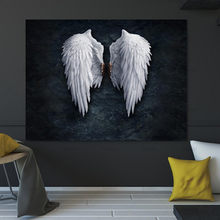 Picture Wall art canvas painting Wing posters and prints the powerful wing home decoration painting art print on canvas No Frame(China)