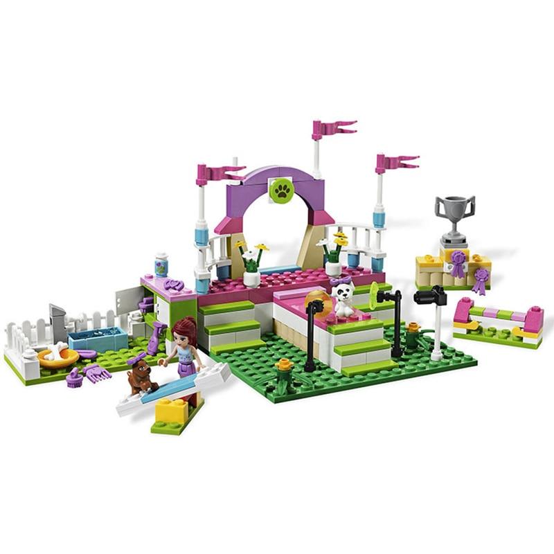 Amis Heartlake Exposition Canine Blocs de Construction Briques Emma Mia Figure Jouet Pour Enfants Compatible avec Lego Len