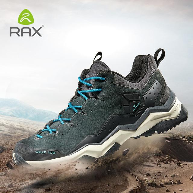 RAX Botas Tácticas de los hombres botas de Combate Del Desierto Al Aire Libre Botas Zapatos de Cuero de Viaje Otoño Invierno Tobillo Hombres Botas Trabajo zapatos 63-5C371