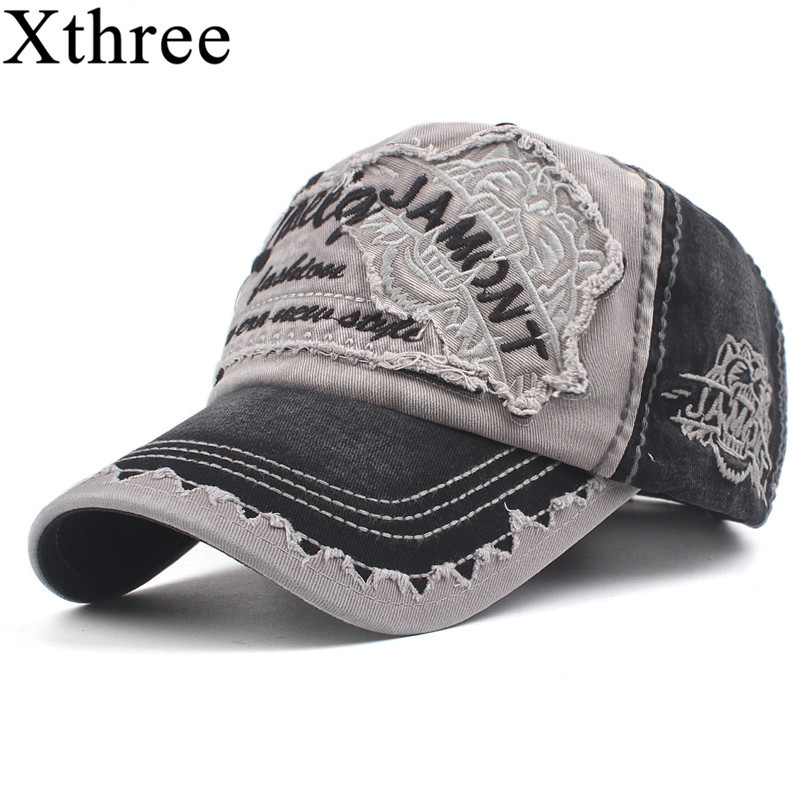 Xthree Men's Baseball Cap Women Snapback Hats For Men Bone Casquette Hip hop Brand Casual Gorras Adjustable Cotton Hat Caps 2018 pink black cap solid color baseball snapback caps suede casquette hats fitted casual gorras hip hop dad hats women unisex