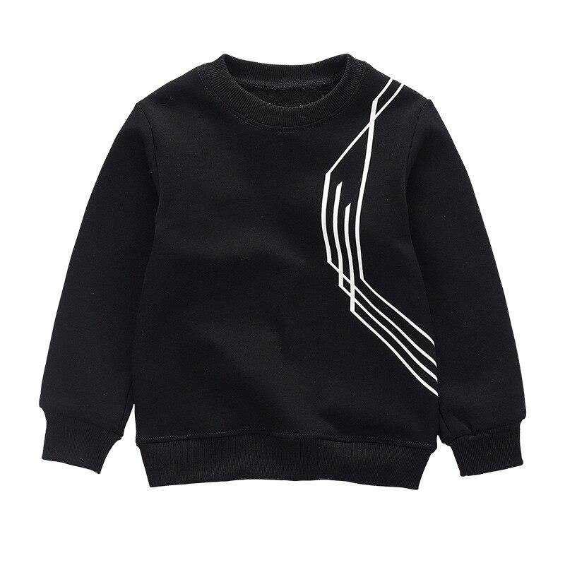 Hot Sales Casual Boys Sweatshirt Sample Sweatshirt Kids Children Hoodies Winter Thick Warm Bottoming Sweatshirts For Children
