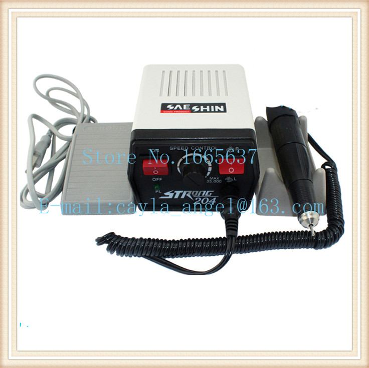 Dental Supplies STRONG 204 Mini Micromotor Polishing Machine for dental jewelry beauty nails