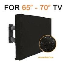 """Jombo напольный чехол для телевизора 6""""-70"""" с нижней крышкой лучший всепогодный пыленепроницаемый микрофибра защита для экрана телевизора патио ТВ чехлы"""