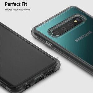 Image 4 - Ringke Fusion do obudowy silikonowej Galaxy S10 elastyczna Tpu i przezroczysta twarda obudowa hybrydowa