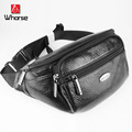 Brand 100% Genuine Leather Men Waist Pack Belt Bag Cowhide Mens Chest Pack High Quality Shoulder Messenger Bags For Man WB72040