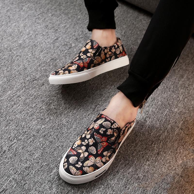 2018 De Sapatos Estampas Mycoron Casual Leves Preto Designers Os Botas Costura Outono Soulier Homme Homens Primavera Animais Luxo gHwBdxw