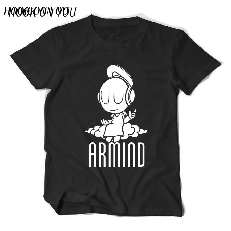 2017 Musikstjärnor DJ Armin Van Buuren T-shirt liten ängel Armind 2 - Herrkläder - Foto 1