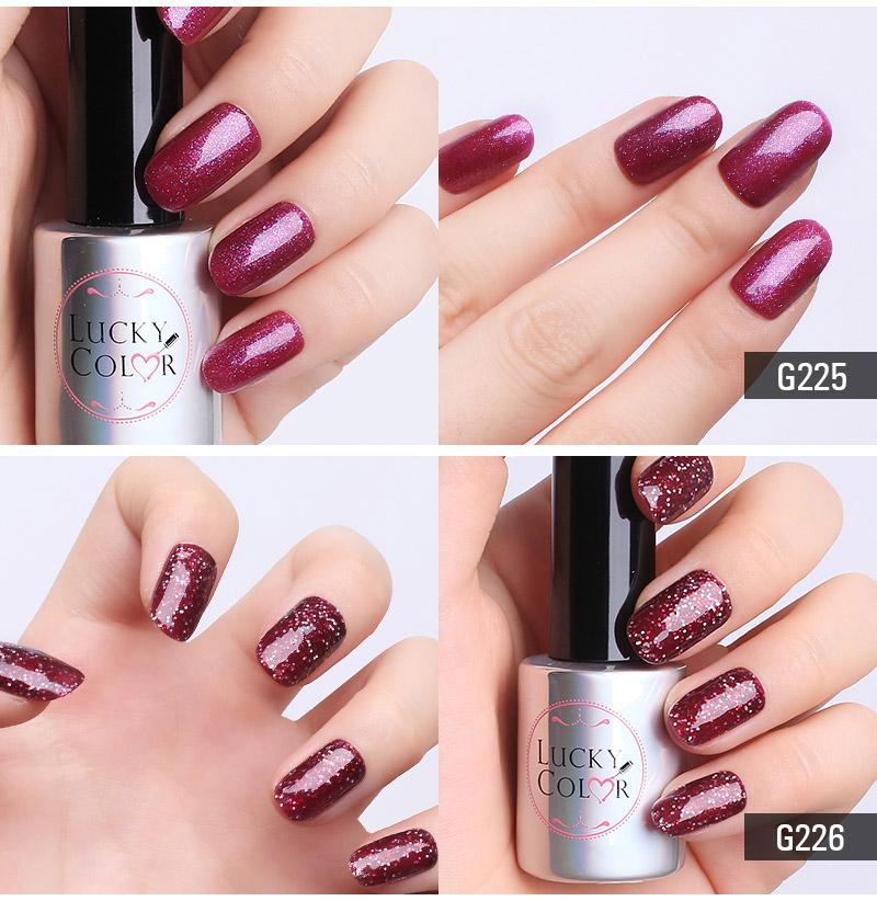 Diamond Red UV Gel Polish For Nail Art Professional LED Soak Off Gel Varnish Lacquer High Quality Free Shipping 10ml Bottle02