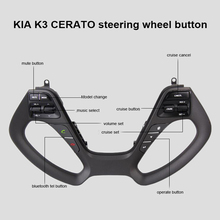 Steering wheel Button for KIA CERATO K3 2016 2017 with audio volume music control cruise bluetooth telephone tel sound Switch bluetooth steering wheel audio control mode switch for toyota corolla