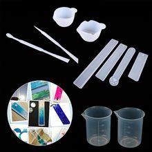 1 Set Resin Silicone Mold Cone Epoxy Resin Molds silicone molds , Resin Stone Pendulum Crystal Column Pendant Silicone UV Resin