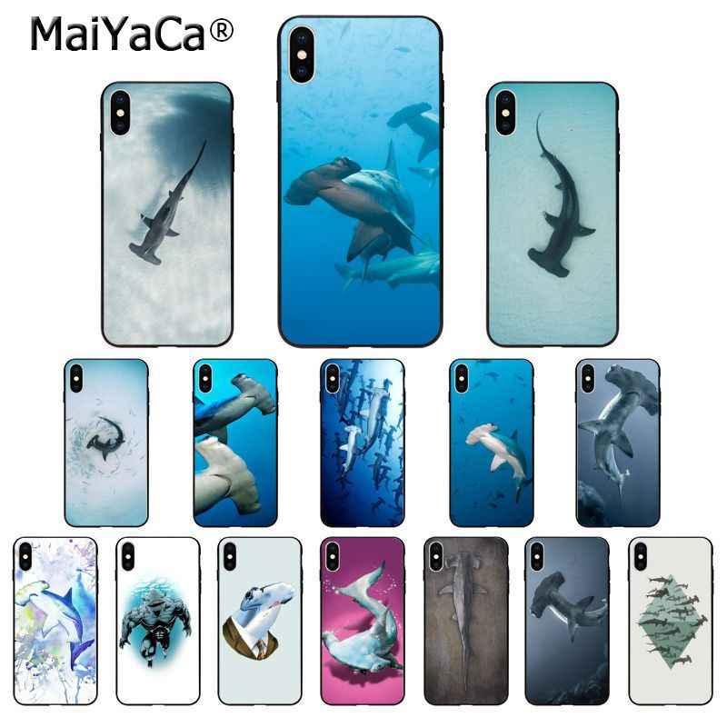 Ocean Whale Sharks Fish Case For Apple Iphone 11 Pro Xr 6 6s