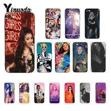 Yinuoda Cardi B Tpu Zachte Siliconen Phone Case Cover Voor Iphone 8 7 6 6S Plus X Xs Max 5 5S Se Xr 10 Cover Fundas Capa(China)