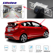 Car rear view WIFI camera for Ford Fiesta hatch ST 2008~2018  Night Vision Backup license plate wireless