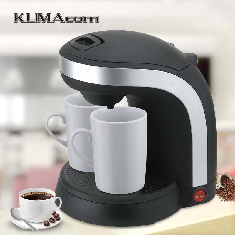 220-240V Drip Coffee makers Best 2 Cups Mini Electric Appliance Cafe Maker Automatic Cafetera Coffee filter machine Plastic cukyi electric automatic hourglass coffee maker drip cafe american coffee machine white
