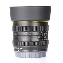 Nouveau style Kamlan 50mm F1.1 APS C grande ouverture objectif de mise au point manuelle pour Sony e mount livraison gratuite
