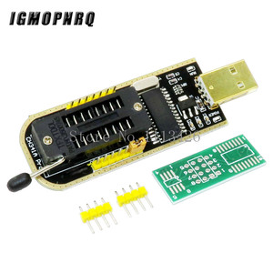 Image 2 - CH341A 24 25 סדרת EEPROM פלאש ה BIOS USB מתכנת מודול + SOIC8 SOP8 מבחן קליפ עבור EEPROM 93CXX / 25CXX / 24CXX