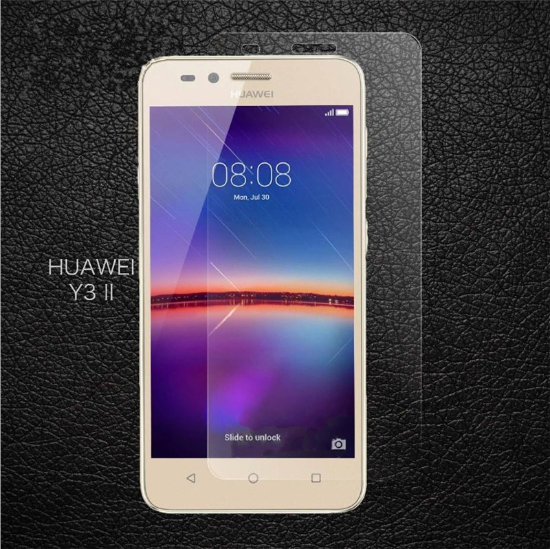 9H 2.5D Premium Tempered Glass For Huawei Y3 II / Y3 2 / Y3ii Screen Protector Toughened Protective Film Guard