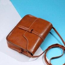 Classical Purse Bag pu Leather Cross Body Shoulder Messenger Bag women Crossbody Message Bag cheap
