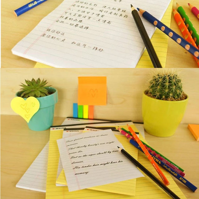 1pad Pcs Memo Pad Usa Style Legal 50 Sheets A5 A4 Notebook Paper Office School Supplies Notebooks Writing