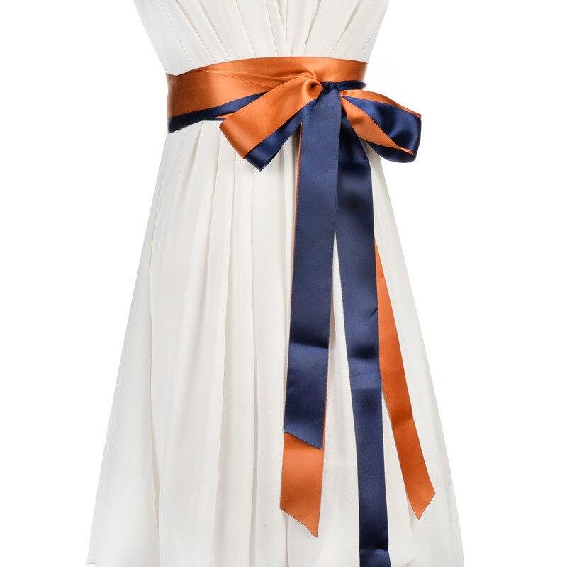 Women Belt Waistband For Dress Coloured Ladies Two Rings Belt Decorative Skirt Ribbon Female Fashion Belt 2020 New 2Pcs/set