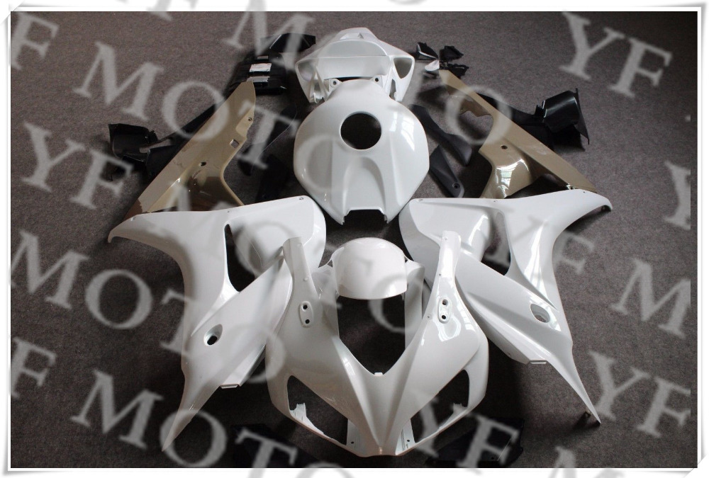 Free shipping Motorcycle ABS Unpainted Fairing Body KIT For H O N D A CBR1000RR CBR 1000RR 2006-2007 ABS Plastic +3 Gift aftermarket free shipping motorcycle parts eliminator tidy tail for 2006 2007 2008 fz6 fazer 2007 2008b lack