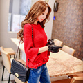Original 2016 Brand Pullovers and Sweaters Autumn Winter Plus Size Elegant Fashion Flowers Sweater Women Wholesale