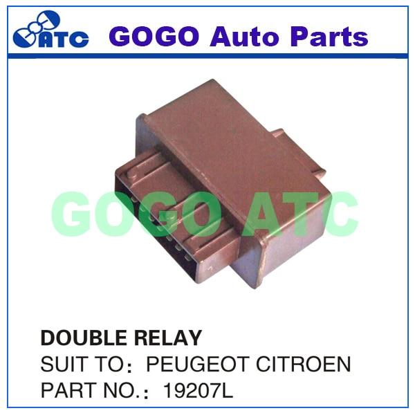 Relais double de pompe a carburant Citroen Xsara = 9629945980-19207L