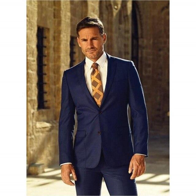 Hot sale Black Western Style Gentlemen Male Suits Men Wedding ...