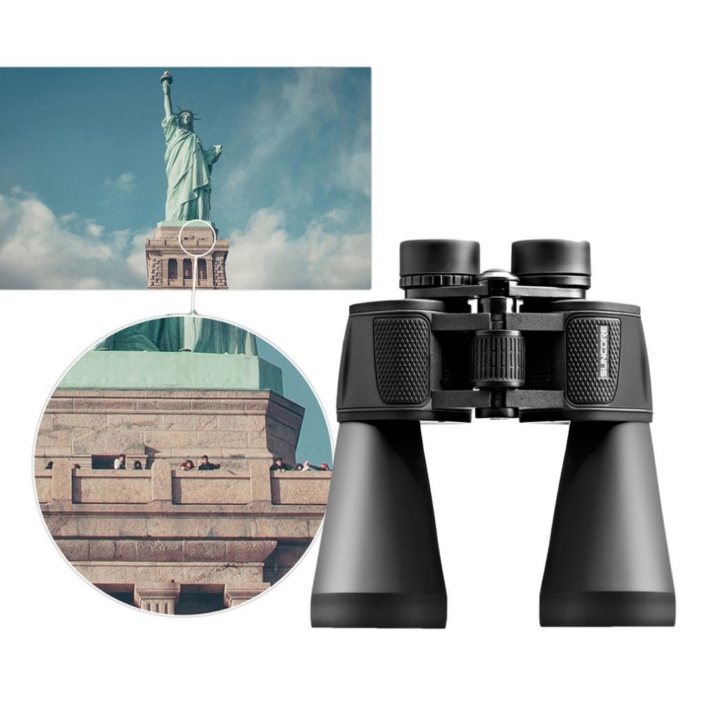 20x60 Zoom Binocular Hunting Optics Telescope Ultra-clear View Full Optical Glass Magnifier For Outdoor Sightseeing Travel 8x zoom telescope lens back case for samsung i9100 black