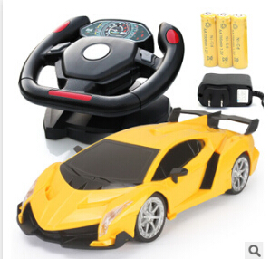 Rc Car Large Steering Wheel Electric Toy Blebee Remote Control Automobile Toys Kids Birthday Gifts W085 In Cars From Hobbies On