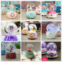 MOST FREE SHIPPING Snow Crystal Ball Music Box Valentine S Day Birthday Gift CHRISTMAS NEW YEAR
