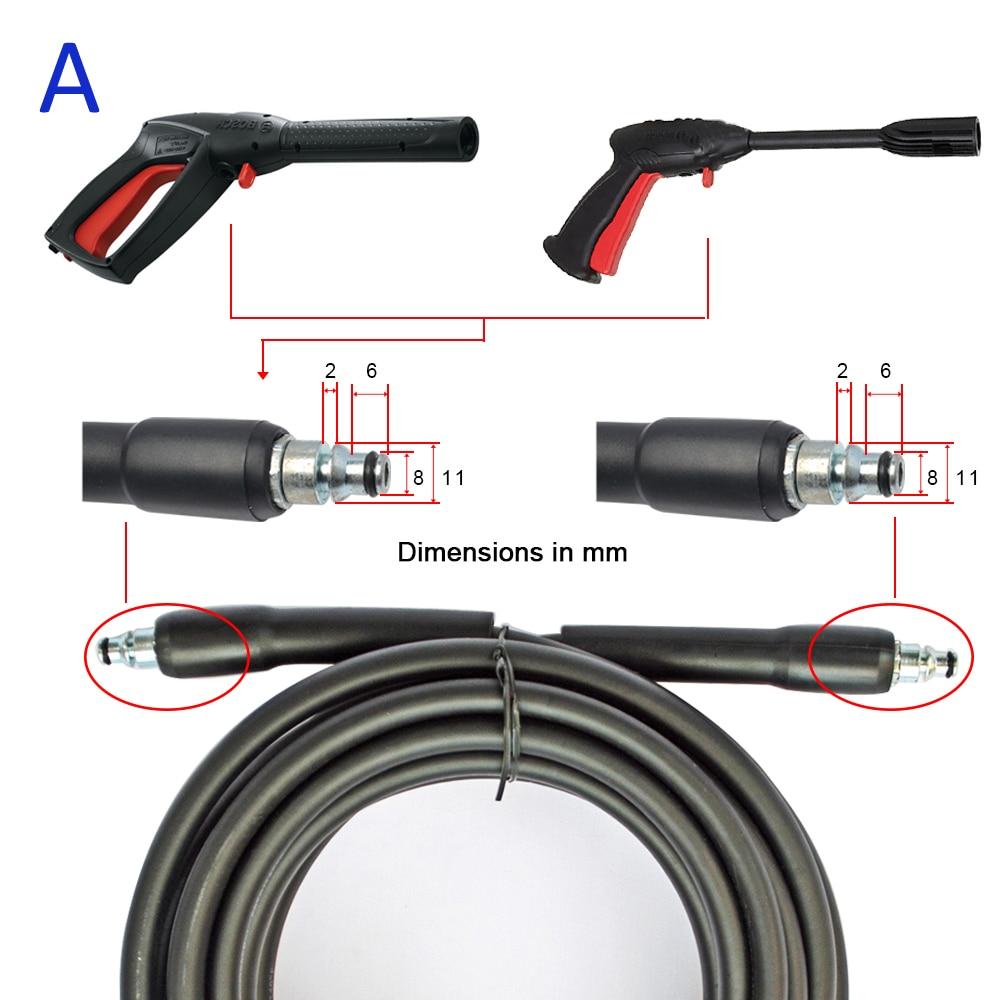 6m 10m X 160bar High Pressure Water Cleaning Hose Extension Washer Bosch Aquatak Aqt33 11 Original 20180414 A