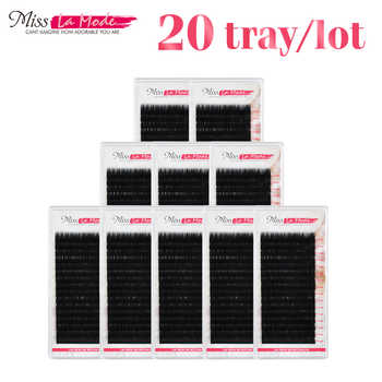 All Sizes JBCD 20pc/lot Eyelash Extension Free Shipping Mink Eyelash Extension Artificial Fake False Eyelashes - DISCOUNT ITEM  10% OFF All Category